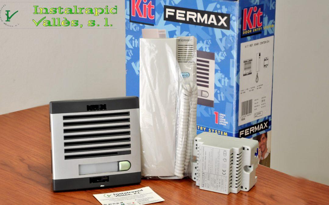 Portero Fermax new loft Kit, Instalrapid Vallès S.L.