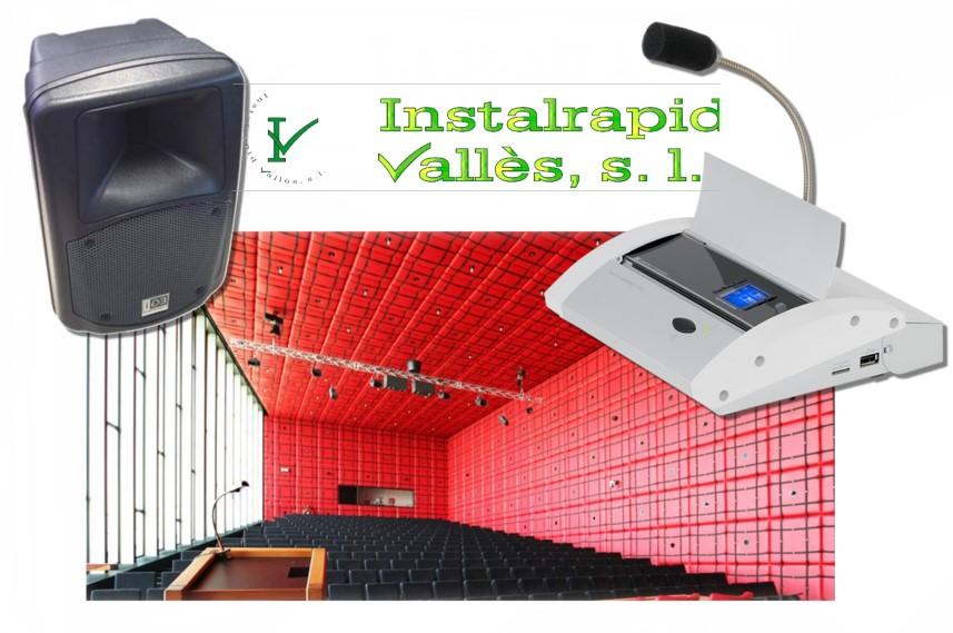 Instalrapid Vallès S.L., Mollet del Vallès, Barcelona, sistemas de sonido y megafonía profesionales