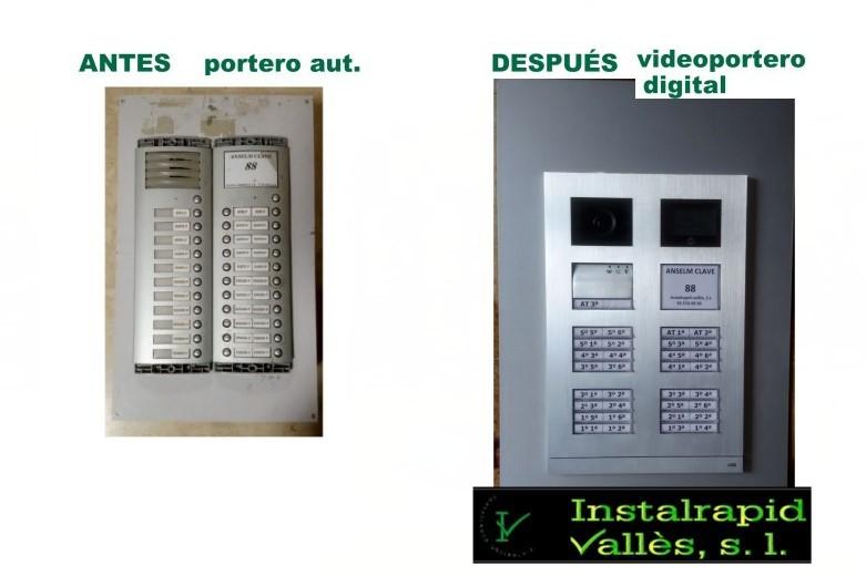 Instalrapid Vallès S.L., antenas Mollet del Vallès, instalar nuevo vídeo portero