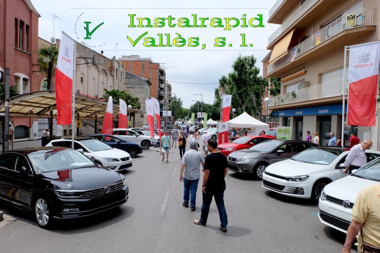 Instalrapid Vallès S.L., antenas, video porteros, Mollet del Vallès, Barcelona, Mollet és Fira 2016