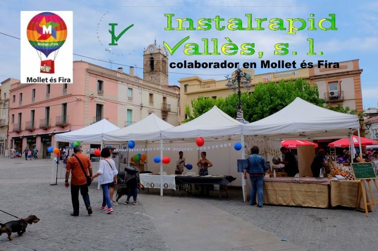 Instalrapid Vallès S.L., antenas Mollet del Vallès, Mollet és Fira 2016, colabora amb el comerç local