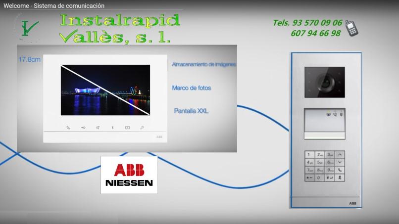 videoportero-abb Instalrapid Valles, Barcelona