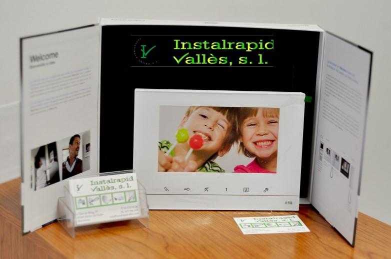 Instalrapid Vallès S.L., vídeo porteros digitales para comunidades vecinos,instalación y reparación