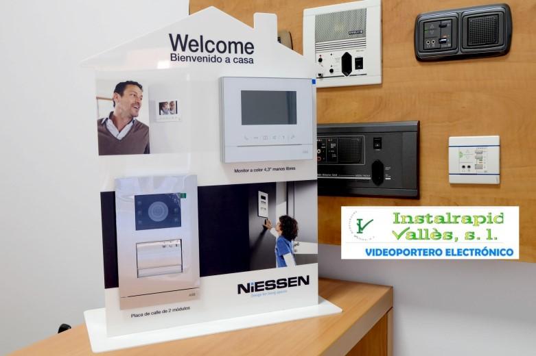 Instalrapid Vallès S.L.Mollet del Vallès, Barcelona, vídeo porteros digitales para comunidades vecinos