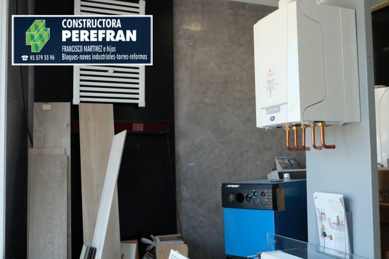 Constructora Perefran S.L.Mollet del Vallès,Barcelona, rehabilitación fachadas, reformas baños, cocinas, aire acondicionado y calderas de calefacción
