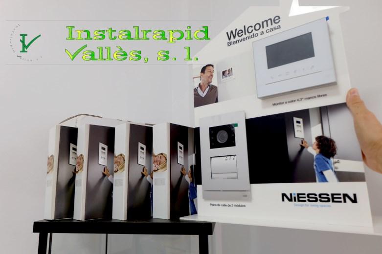 Instalrapid Vallès S.L.Mollet del Vallès, Barcelona, vídeo porteros digitales ABB Niessen Welcome, instalaciones profesionales para comunidades de viviendas, empresas, casas, apartamentos