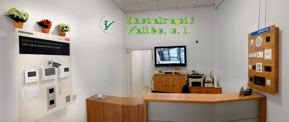 Instalrapid Vallès S.L.Mollet del Vallès, Barcelona, vídeo porteros digitales ABB Niessen Welcome
