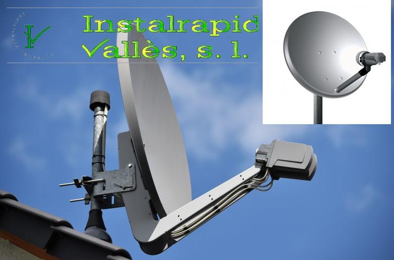 Instalrapid Vallès S.L.Mollet del Vallès, Barcelona, instaladores de antenas parabólicas y TDT
