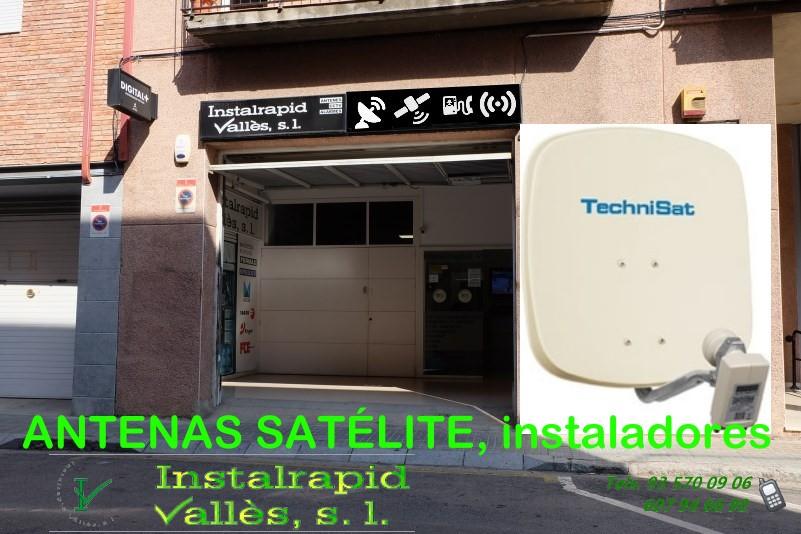 Instaladores de antenas de satélite en Mollet del Vallès, Barcelona Instalrapid Vallès