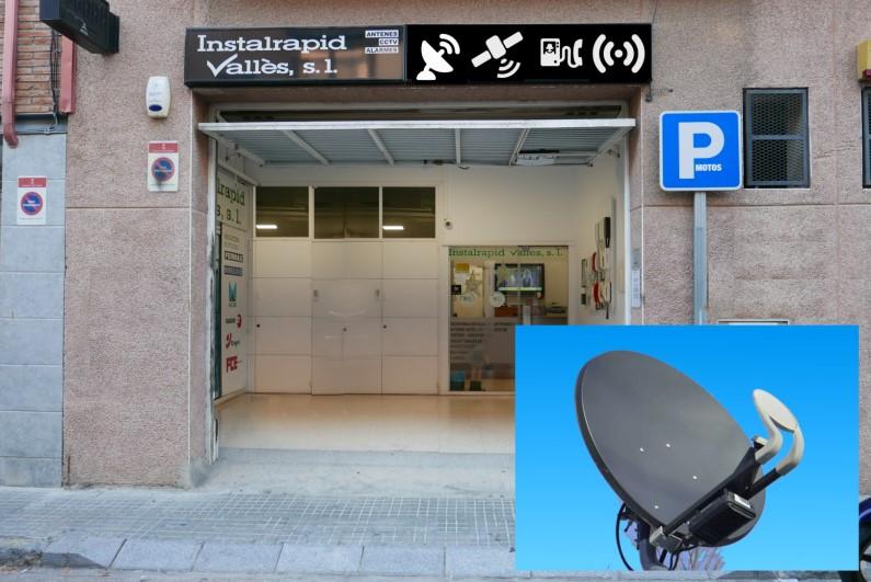 Instalrapid Vallès, antenistas, TDT y satélite parabólica, instalación y reparación en Mollet, Barcelona