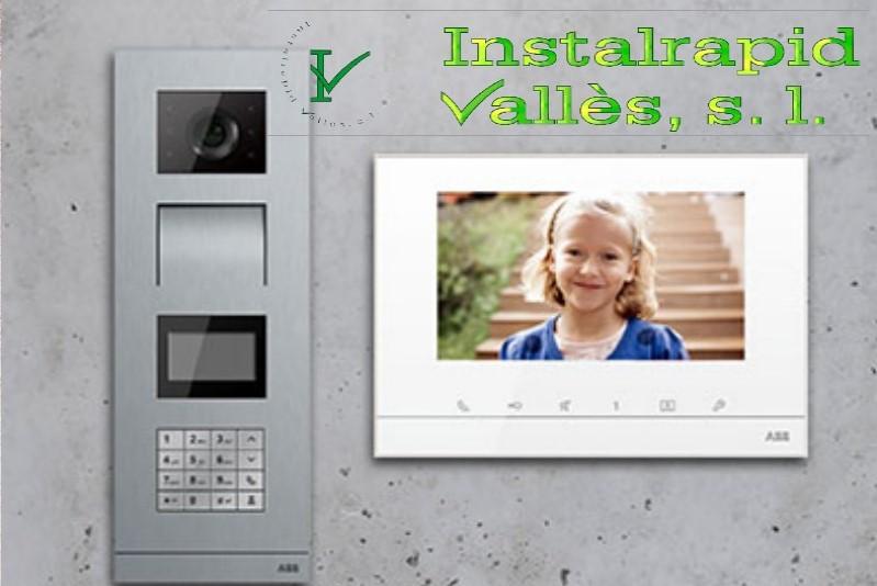 Instalrapid Vallès S.L.Mollet del Vallès, Barcelona, vídeo porteros digitales ABB Niessen Welcome para comunidades